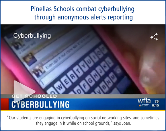 Pinellas Schools combat cyberbullying through anonymous reporting