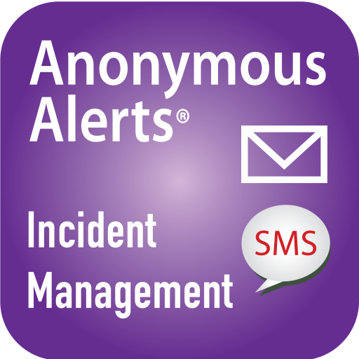 Anonymous Alerts Incident Management App